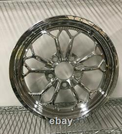 15 Front Drag Racing Wheels ALTA GRADU Chrome Finish Set of 2