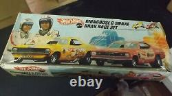 1970 Hotwheels Vintage Mongoose & Snake Drag Race Set