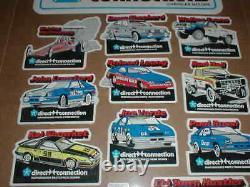 1983 Direct Connection Mopar Pickup Truck Dodge drag racing decal sticker set