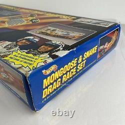 1993 Mattel Limited HOT WHEELS Mongoose & Snake Drag Race Set #10084 NEW