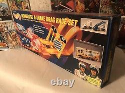 1993 Vintage Hot Wheels Mongoose & Snake Drag Race Set New In Box Sealed