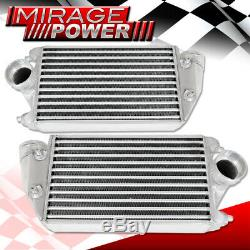 2001-2009 996 997 Porsche Turbo Aluminum Performance Mount Intercooler Silver