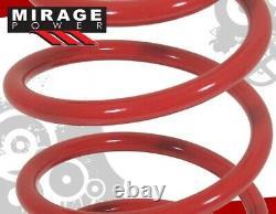 2005-2014 Ford Mustang Gt500 V6 V8 Suspension Drop Kit Lowering Spring Set Red