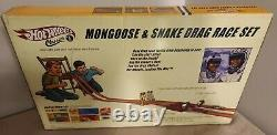 2005 Hot Wheels Classics Mongoose & Snake Drag Race Set Autographed