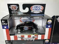 2021 M2 Machines Walmart Exclusive 70 Years NHRA Championship Drag Racing Set