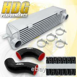 26x6x5 FMIC Front Mount Aluminum Intercooler Cooling For 07-10 BMW 135i 335i