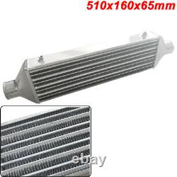 510x160x65mm Universal Turbo Intercooler bar plate 2.5 Front Mount Aluminum SL