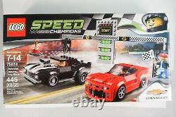 75874 LEGO Speed Champions Chevrolet Camaro Drag Race Complete with box and in