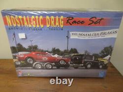 AMT Model King Nostalgic Drag Race Set Cougar Bronco Sealed 1/25