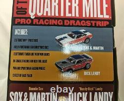 Auto World HO Legends of the Quarter Mile Drag Slot Race Set NEW