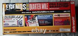 Auto World Legends of the Quarter Mile 13' Drag Racing Slot Car Set #SRS319/03