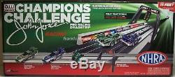 Auto World #SRS242 1/64 John Force Champions Challenge Drag Race Set Brand New