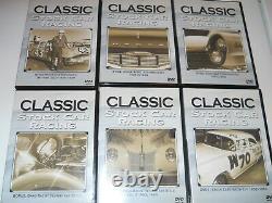 Classic Stock Car Racing 6 Disc DVD Set Dodge Chysler Drag Racing Datona 500