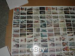 Drag Nationals Fleer bubblegum Uncut set sheet 2Full sets + 56 cards Rare racing
