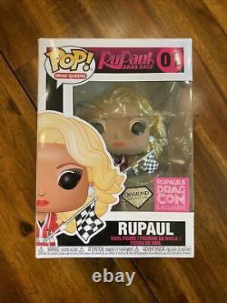 Drag Race Funko Pops Full Set featuring Diamond Edition #01 RuPaul