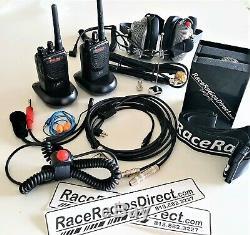 Drag Race Radio Set HOTSHOT PRO Complete Racing Radio System
