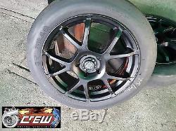 Drag Slick MOTEGI RACING Wheels 17x7/ 5x114.3 Rims(Set of 4)