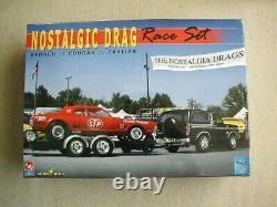 FACTORY SEALED Nostalgic Drag Race Set by AMT/Ertl for Model King #21713P