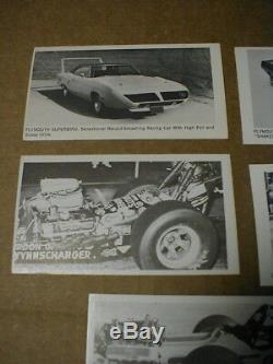 Fleer Dragstrip Stickshift Drag Racing 10 card set Don Garlits 1970 Superbird