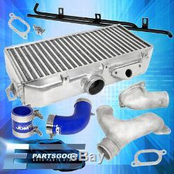 For 02-07 Subaru Wrx Top Mount Intercooler Y-Pipe Kit Set Performance Upgrade