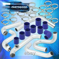 For 04-06 Mazda 3 2.0L Race Bolt-On Turbo Intercooler Piping Kit + Couplers Set