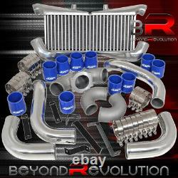 For 1990-1996 Nissan 300Zx Twin Turbo Intercooler + Piping Kit Bolt On Set