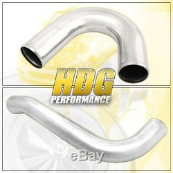 For 93-98 Toyota Supra Turbocharged Aluminum Front Mount Intercooler Piping Jdm
