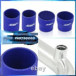 For 95-01 Subaru Wrx Rs Gc8 Intercooler Piping Kit Set Blue Couplers Performance