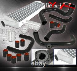 For 96-00 Civic D/B Series Turbo Intercooler Bolt On Piping Kit + 5-Ply Couplers