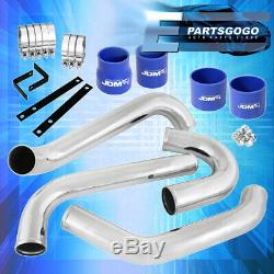 For Toyota Supra Jza80 2Jz Gte Intercooler Piping Kit Blue Couplers Performance