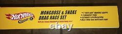 HOT WHEELS CLASSICS MONGOOSE & SNAKE DRAG RACE SET Factory Sealed 2005