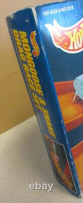 Hot Wheels 1993 HOT WHEELS MONGOOSE & SNAKE DRAG RACE SET NEW SEALED IN BOX