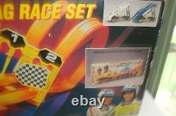 Hot Wheels 25th Anniversary Mongoose and Snake Drag Race Set 11644 NEVER USED