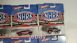 Hot Wheels Championship NHRA Drag Racing Complete Set