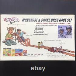 Hot Wheels Classic MONGOOSE & SNAKE Drag Race Set NIB