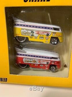 Hot Wheels Classic Snake & Mongoose Drag Race Set withVolkswagen Drag Buses