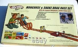 Hot Wheels Classics Mongoose & Snake Drag Race Set Autographed by Both