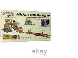 Hot Wheels Classics Mongoose & Snake Drag Race Set Factory Sealed 2005 Vhtf