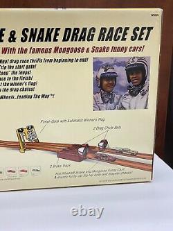 Hot Wheels Classics Mongoose & Snake Drag Race Set Plymouth NIB 2005 HTF