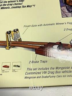Hot Wheels Classics Mongoose & Snake Drag Race Set Volkswagen Bus New In Box