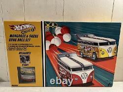 Hot Wheels Classics Mongoose & Snake VW Drag Bus Race Set Brand New SEALED Rare
