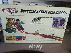 Hot Wheels Classics Mongoose and Snake Drag Race Set, VW Drag Bus, Unopened