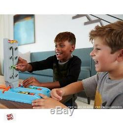 Hot Wheels Drag Race Car Track Set For Kids Playset Toys