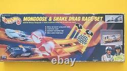 Hot Wheels MONGOOSE & SNAKE Drag Race Set