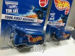 Hot Wheels Race Team Drag Bus VW First Editions & 30th Anniversary Reprint Set