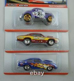 Hot Wheels Racing Nhra Drag Racing, Complete Set Of (6) Snake And Mongoose Momc