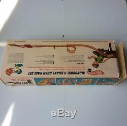 Hot Wheels Redline Snake Mongoose Drag Race Set Mint Near Mint Complete No Cars