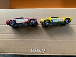 Hot Wheels Snake Mongoose Drag Race Set with Cars
