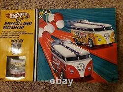 Hw VW Drag Bus Mongoose & Snake Drag Race Set