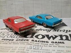 Kool Shutdown Plymouth GTX Roadrunner Drag Race car set NOS